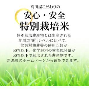 お米25kg 特別栽培米新潟産こしいぶき玄米 25kg/白米4.5kg×5 30年産 送料無料(一部地域を除く) うるち米|komeya|02