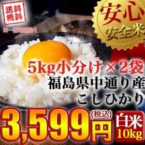 米 お米 平成30年産 福島県中通り産コシヒカリ白米10kg(5kg×2個) 送料無料 ※一部地域を除く|komeyamayoshi