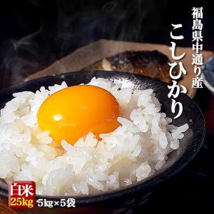 米 お米 平成29年産 福島県中通り産 コシヒカリ 白米:2...
