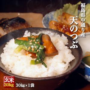 米 お米 平成29年産 福島県中通り産天のつぶ 白米25kg...
