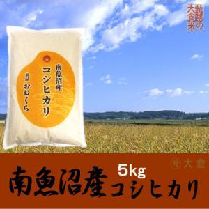 南魚沼産コシヒカリ 5kg(令和2年産)【送料無料(本州のみ)】 komeyaookura