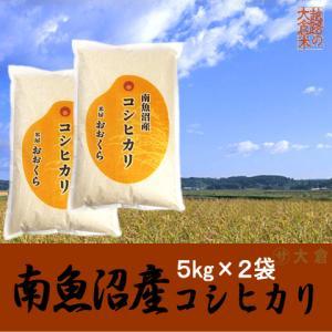 南魚沼産コシヒカリ(令和2年産) 10kg(5kg×2袋)【送料無料(本州のみ)】 komeyaookura