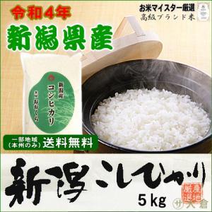 数量限定SALE!新潟県産コシヒカリ (令和2年産)5kg【送料無料(本州のみ)】 komeyaookura