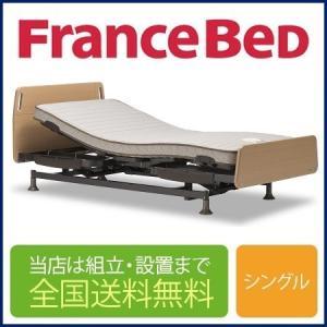 【非課税」フランスベッド レステックス-01FN 3モーター(フレーム)+イーゼルRX(マットレス)...
