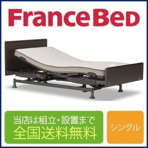 【非課税」フランスベッド レステックス-02FN 3モーター(フレーム)+イーゼルRX(マットレス)...