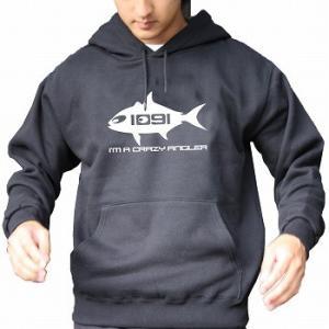 Fish Crazy Angler.1091パーカー |komo