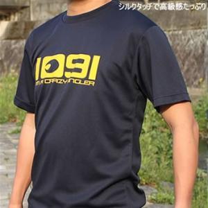 釣りTシャツ 速乾 Crazy Angler.(1091 入れ食い)ドライTシャツ|komo
