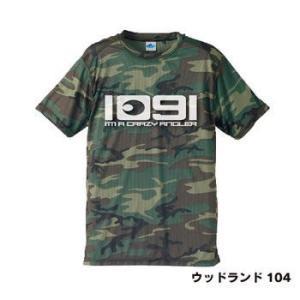 釣りTシャツ 速乾 Crazy Angler.1091(入れ食い)ドライカモフラTシャツ|komo