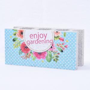 【ガーデンサイン】ファニーブロック エンジョイガーデン1 〈商品番号 F-G8〉 komochi-store