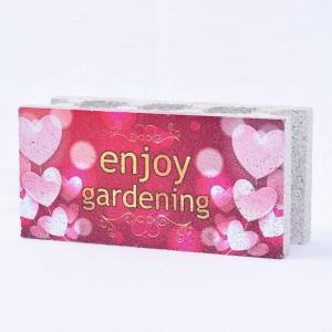 【ガーデンサイン】ファニーブロック エンジョイガーデン2 〈商品番号 F-G9〉 komochi-store