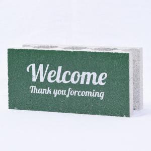 【ウェルカムブロック】ファニーブロック Welcome4 〈商品番号 F-W8〉|komochi-store