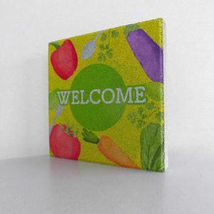 【ウェルカムブロック】平板ブロック 野菜 Welcome 〈商品番号 H200-W15,H300-W15〉|komochi-store
