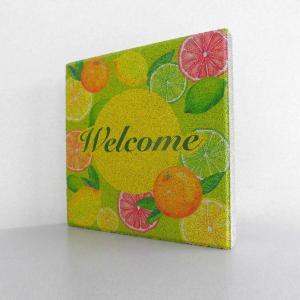 【ウェルカムブロック】平板ブロック 果物Welcome 〈商品番号 H200-W16,H300-W16〉|komochi-store