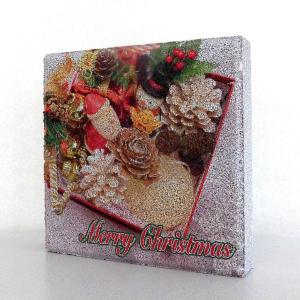 【ガーデンサイン】クリスマス 平板ブロック A 〈商品番号  H200-G10〉|komochi-store