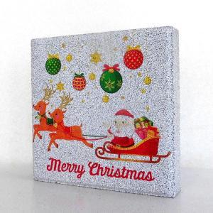 【ガーデンサイン】クリスマス 平板ブロック C 〈商品番号  H200-G12〉|komochi-store