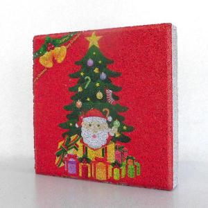 【ガーデンサイン】クリスマス 平板ブロック D 〈商品番号  H200-G13〉|komochi-store