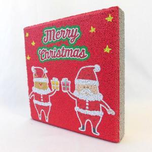 【ガーデンサイン】クリスマス 平板ブロック F 〈商品番号  H200-G26〉|komochi-store