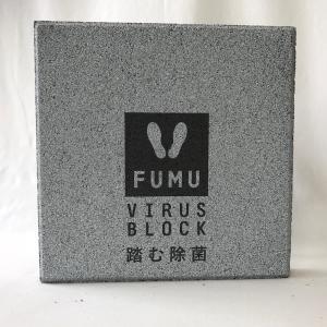 【除菌・抗菌ブロック】踏む除菌ブロック「FUMU」 VIRUS-BLOCK2 〈商品番号 H300-F2〉|komochi-store