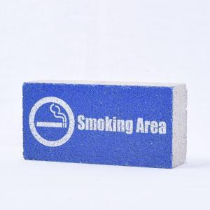 【ガーデンサイン】レンガブロック Smoking Area 〈商品番号 R-G2〉 komochi-store