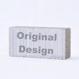 【ニーズ別印刷】レンガブロック 100mm×200mm×60mm 〈商品番号 R-O1〉|komochi-store