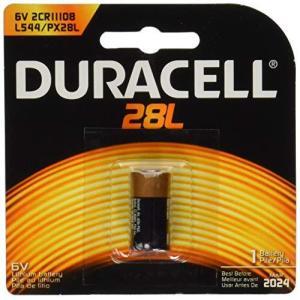 HOLGA DURACELL PX28LBリチウム電池【並行輸入品】(4SR44・4LR44・4A76・2CR1/3N互換)|komomoshop
