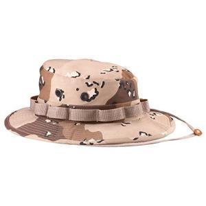 (ロスコ)Rothco 米軍 ブーニーハット Boonie Hat デザートカモフラージュ L|komomoshop