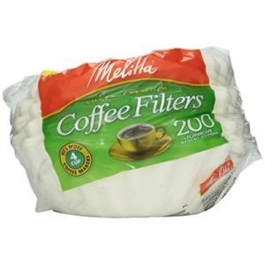 メリタ(Melitta) ホワイト コーヒー フィルター 4-6カップ用 200枚入り|komomoshop