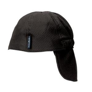 ロゴス 冷え帽ブラック 85100810|komomoshop