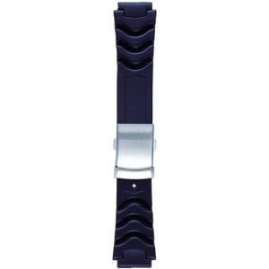 BAMBI バンビ 時計バンド ウレタン 黒 18mm 美錠 シルバー BG500A|komomoshop