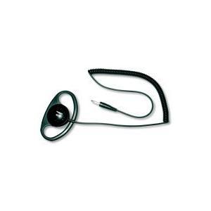第一電波工業 ダイヤモンド HE77M ハンディ用耳掛け式イヤホン(3.5φストレート型)|komomoshop
