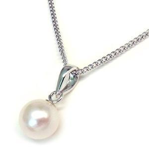 [あなたと私の宝石箱] 真珠ネックレス あこや本真珠 ペンダント <日本製>|komomoshop