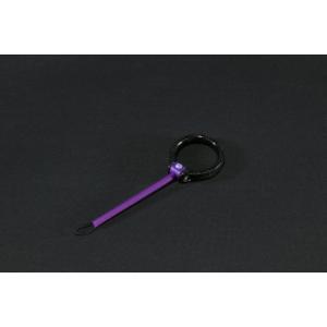 Deff Carbon Ring Finger Strap 色:ディープパープル|komomoshop