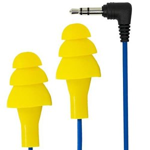 Plugfones 1st Generation Yellow Ear Plug Earbuds by Plugfones|komomoshop