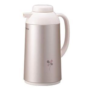 象印マホービン(ZOJIRUSHI) ガラス 魔法瓶 卓上 ポット 保温 保冷 ピンク AG-LB10-PA|komomoshop