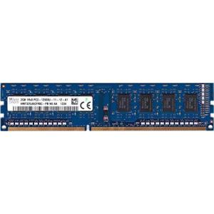 SK hynix PC3-12800U (DDR3-1600) 2GB x 1枚 240ピン DIMM デスクトップパソコン用メモリ 型番:HMT32|komomoshop
