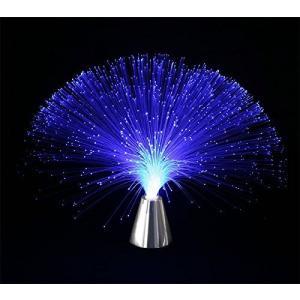 電光ホーム 光る ファイバーライト シルバー台座|komomoshop