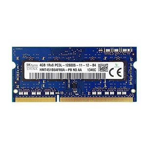 SK Hynix 4GB HMT451S6AFR8A-PB DDR3 1Rx8 PC3L-12800S ノートパソコン用メモリー|komomoshop