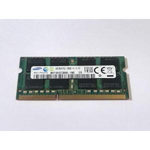 Samsung(サムスン) ノートパソコン用DDR3低電圧メモリー 4GB 1rx8pc3l-12800s-11-13-b4 [ M471B5173Q|komomoshop