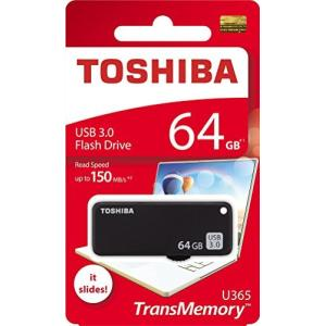 Toshiba 64GB 64G USB 3.0 フラッシュディスク TransMemory U365 USB3.0 フラッシュドライブ 読み取り 1|komomoshop