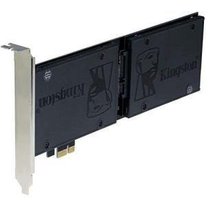 Sedna PCI Express (PCIe) デュアル2.5インチ SATA III (6G) SSDアダプター (拡張片側SSDバージョン) (|komomoshop