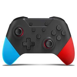 Switch コントローラー 2021年NEWモデル スイッチコントローラー 無線 HD振動 NFC ジャイロセンサー Amiibo搭載 TURBO連 komomoshop