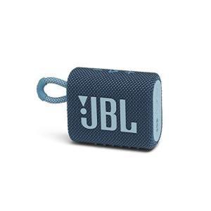JBL GO 3 Bluetoothスピーカー USB C充電/IP67防塵防水/パッシブラジエーター搭載/ポータブル/2020年モデル ブルー JB|komomoshop
