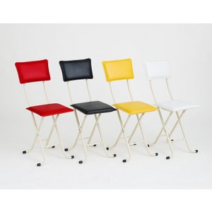 折りたたみ椅子 おしゃれ デラックスカラーチェアDX-80