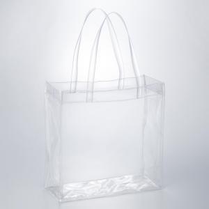 透明ビニールバッグ クリア 防水 トート 痛バッグ 痛バ プールバッグ ミニトート 無地 CB-3535