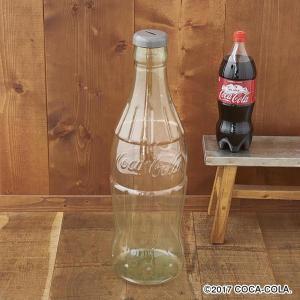 超ビッグなコカコーラボトル型半透明貯金箱!  高さ60センチの超ビッグなコンツアーボトル(コカコーラ...