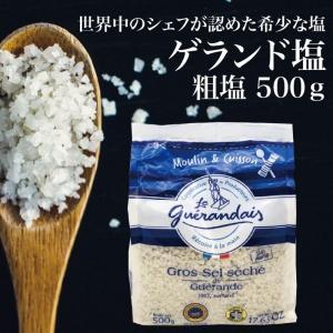 ATJゲランド 乾燥粗塩 500g|komorebi