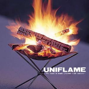 ユニフレーム UF683064 ファイアスタンド2 カタログ外限定販売 焚火台/焚き火台 ファイアグリル ファイヤースタンド 特殊耐熱鋼メッシュ バックパッキング|kompas