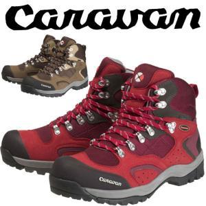 キャラバン C1-02S CRVN0010106 レディース/女性用サイズ 登山靴 レッド ブラウン ネイビー|kompas