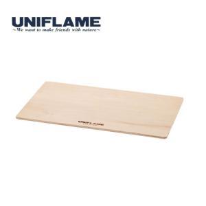 ユニフレーム UF611654 フィールドラック ウッド天板 クーラーBOXスタンド ローテーブル 料理|kompas