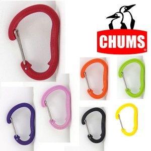チャムス カラビナ CH61-0118 プラスチックカラビナSサイズ Plastic Carabiner Small カラビナ|kompas